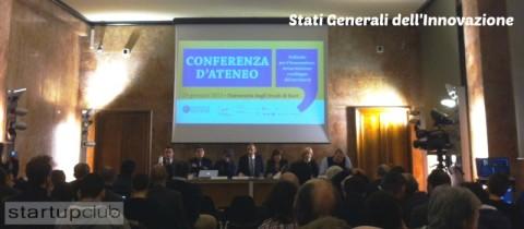 Stati Generali dell'Innovazione e Startup Innovative a Bari
