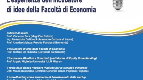 Dall'Idea all'Impresa. Evento a Lecce il prossimo 29 maggio.