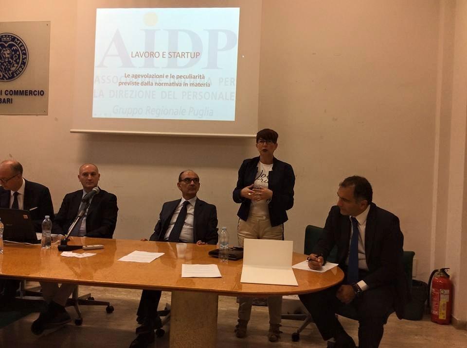 Marcella Loporchio, consigliere AIDP Puglia