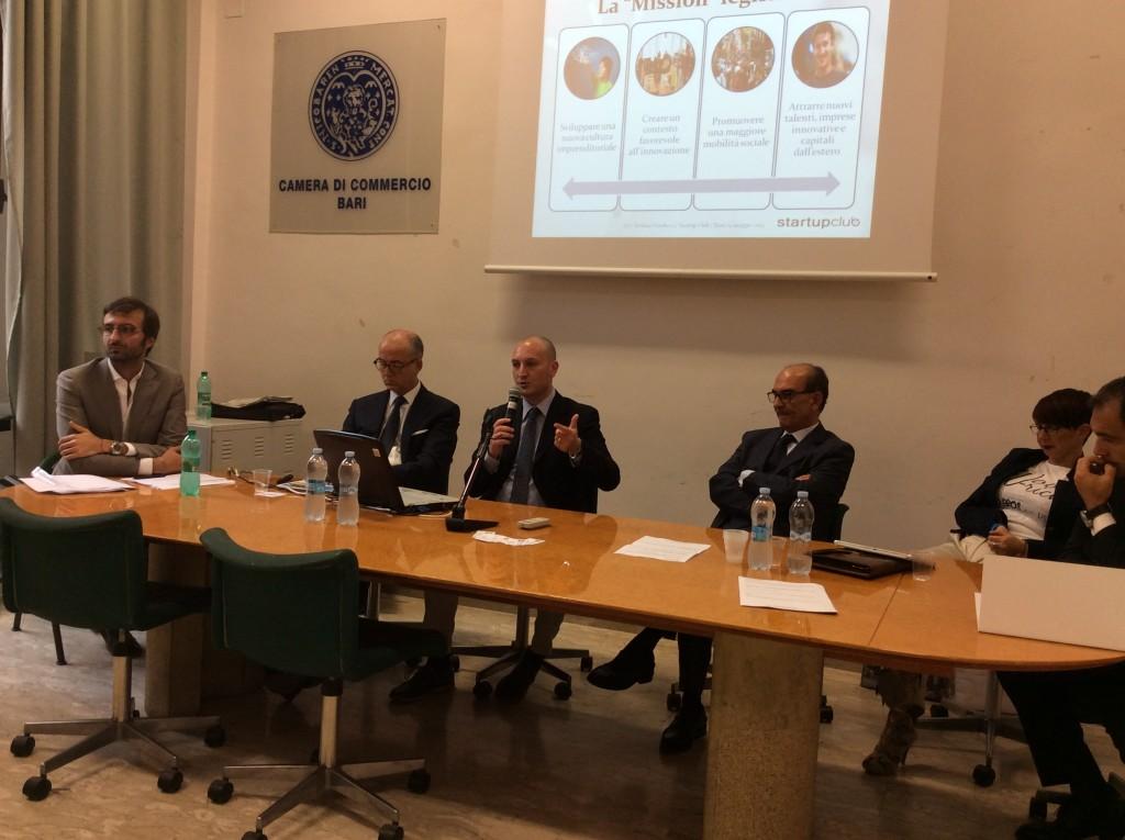 Fabio Buongiorno (a sinistra), commercialista e resp. finance Startup Club