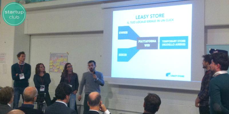 Leasy Store, la startup vincitrice