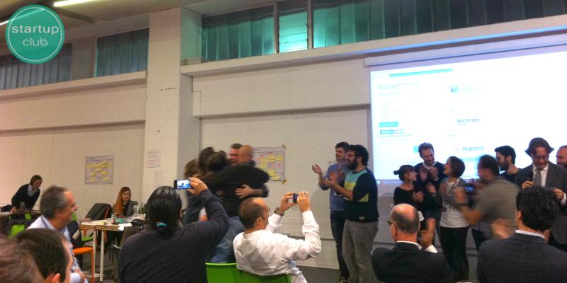 Le vincitrici dello Startup Weekend Bari