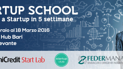 UniCredit Start Lab, prova ad entrarci con la Startup School!