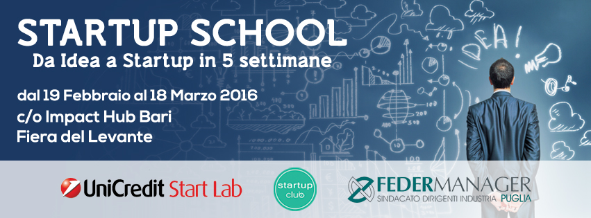 UniCredit Start Lab e Startup School