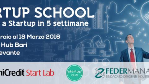 Startup School, da idea a startup in sole 5 settimane!